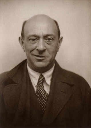 Arnold Schönberg, around 1926